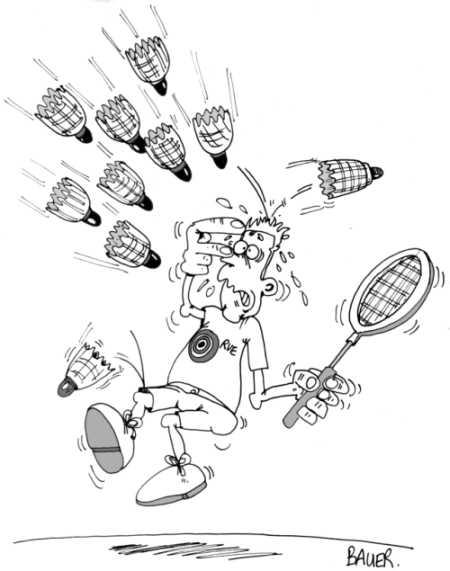 """Résultat de recherche d'images pour """"badminton humour"""""""